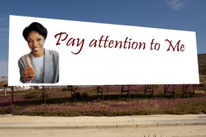 BillBoard Pay attention
