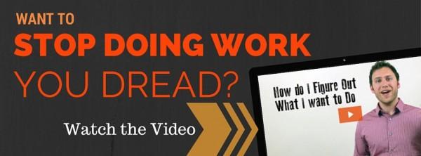 Stop dreading work