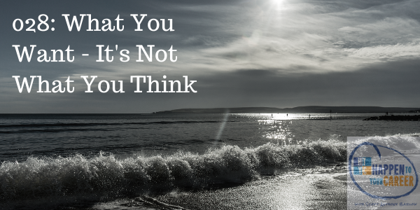 028 What You Want – It's Not What You Think