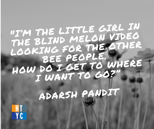Adarsh Pandit on his career search