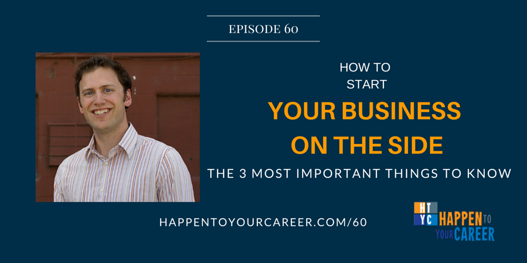 HTYC060 How to Start a Business on the Side