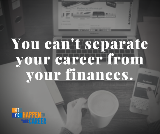 You can't separate your career from your