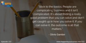Olivia Gamber Quote