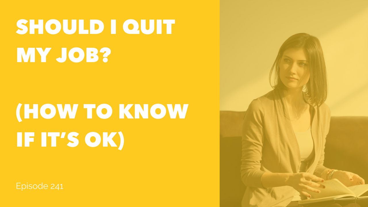 Quitting just got good for you. Yes, really advise