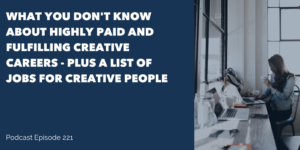 Creative Careers list of creative careers