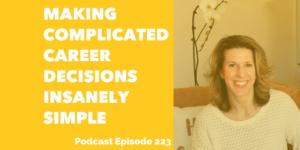 making career decisions simple