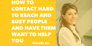contact hard to reach people make connections